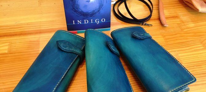 indigo × yellow のコンテケース