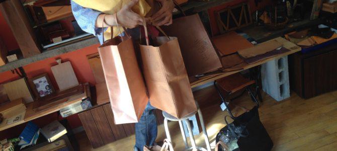 紙袋シリーズ 価格変更のお知らせ