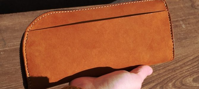 L型の長い財布