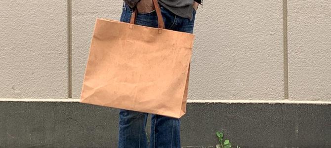 紙袋のような革袋ワイルドタイプ・エキストララージ